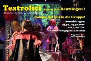 Teatrolici – Theater für Kinder auf Rumänisch