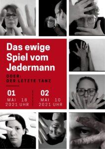 Abschluss-Inszenierung Online: 2. Jahr Stuttgart spielt JEDERMANN